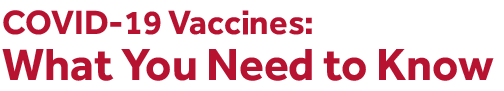 Covid vaccines need to know english