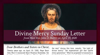 Divine Mercy Letter English